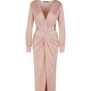 NWT Twist Front Maxi Dress